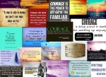 Courage Quote Collage